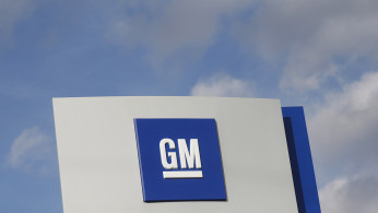 FILE PHOTO: The GM logo is seen in Warren, Michigan, U.S. on October 26, 2015