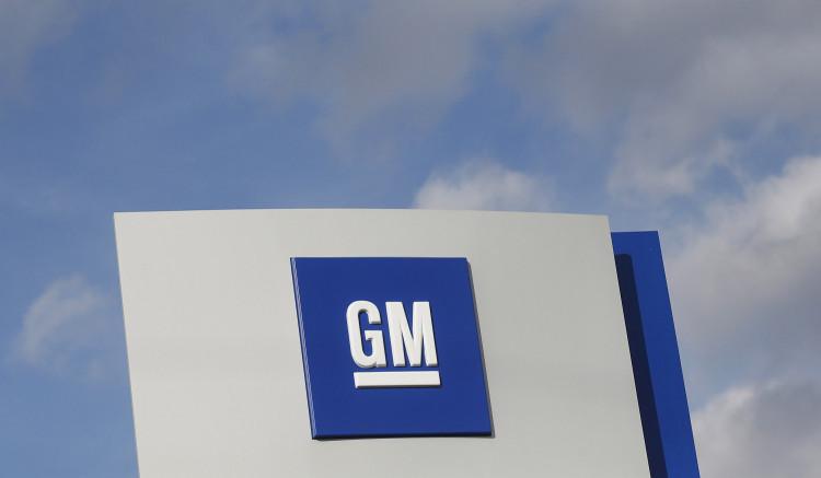 FILE PHOTO: The GM logo is seen in Warren, Michigan, U.S. on October 26, 2015