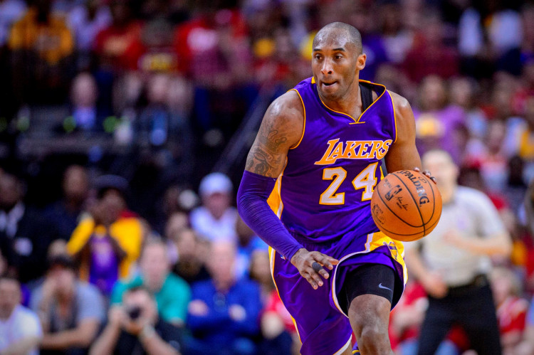 NBA: Los Angeles Lakers forward Kobe Bryant (24) in action during the game between the Rockets and the Lakers at the Toyota Center