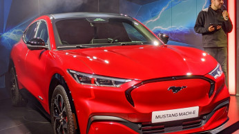 All-Electric Ford Mustang Mach-E SUV