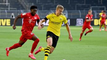 Soccer Football: Borussia Dortmund striker Erling Haaland