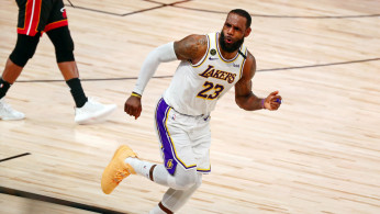 NBA: Los Angeles Lakers' forward LeBron James