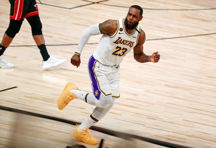 NBA: Los Angeles Lakers' forward LeBron James