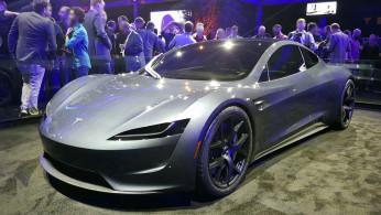 Tesla: Second-generation Tesla Roadster 2020 prototype