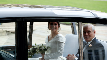 Princess Eugenie and Prince Andrew