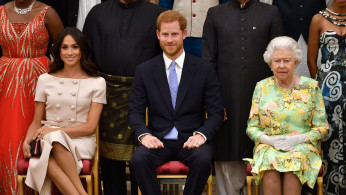 Meghan, Harry and Queen Elizabeth
