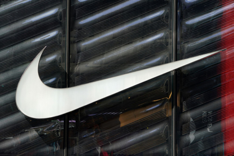 The Nike Swoosh logo