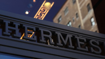 FILE PHOTO: The front of the Hermes store is seen along Madison Avenue in New York