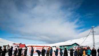 Greenland's parliamentary election