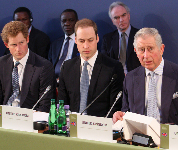 Harry, William and Charles
