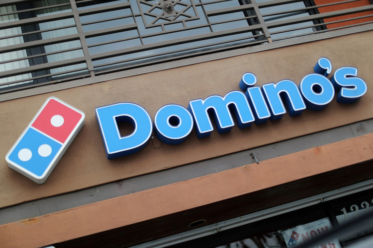 FILE PHOTO: A Domino's Pizza restaurant is seen in Los Angeles, California, U.S. July 18, 2018.