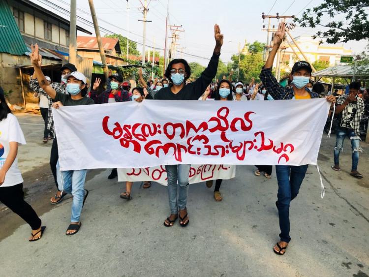 Myanmar coup