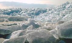 CRUMBLING ICE
