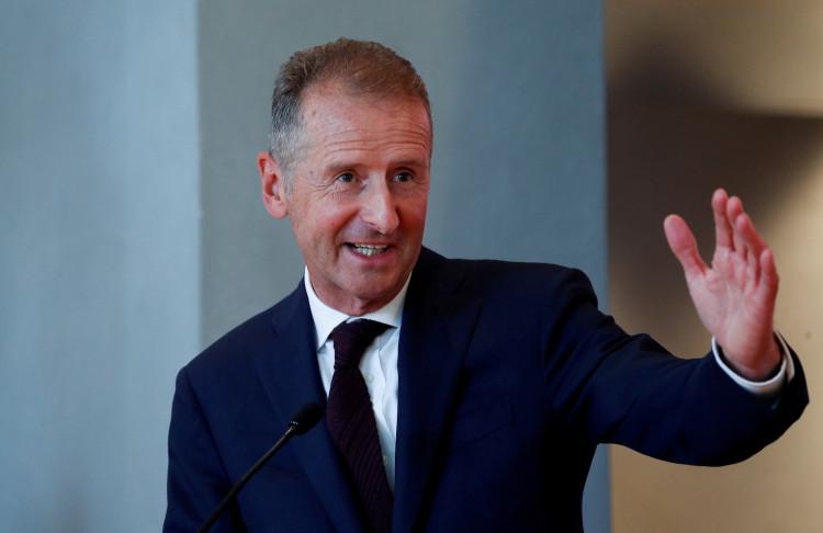 Volkswagen Group Chief Executive Officer Herbert Diess