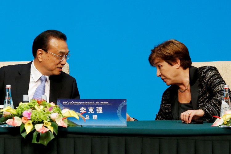 IMF chief in spotlight after China rigging report