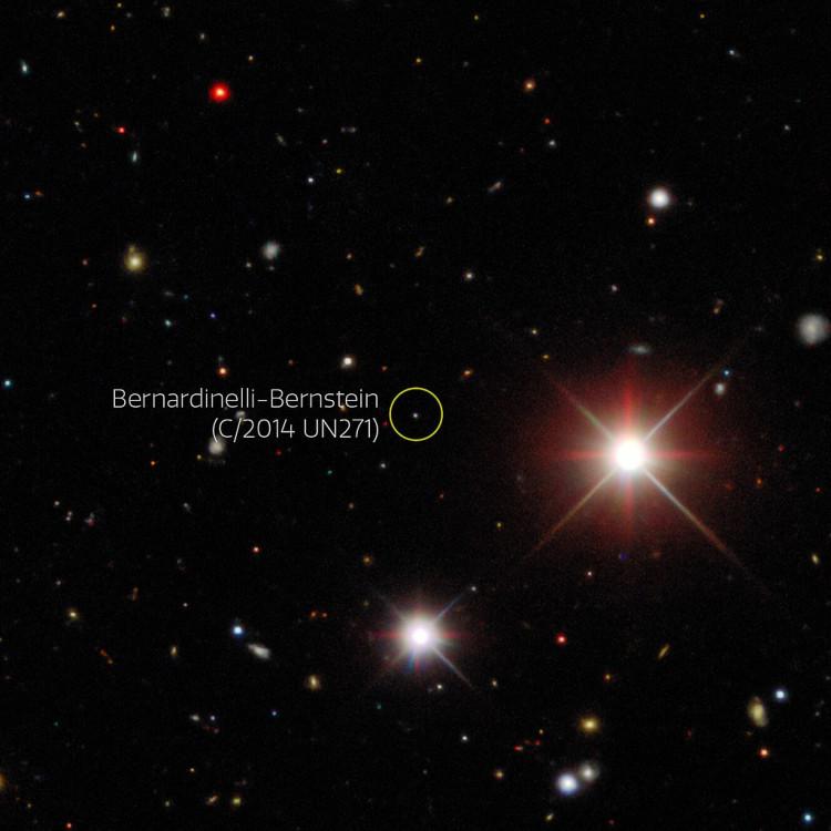 Comet Bernardinelli-Bernstein
