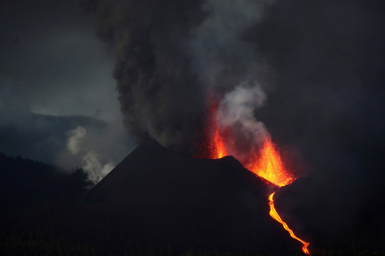 Hundreds evacuated as red-hot lava threatens homes in Spain's La Palma