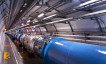 View of the LHC tunnel sector 3-4