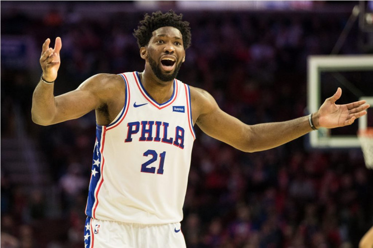 NBA: Philadelphia 76ers center Joel Embiid