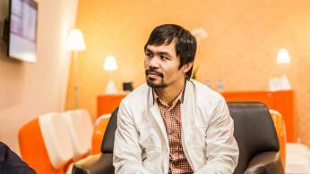 Boxing: WBA Super Welterweight champion Manny Pacquiao