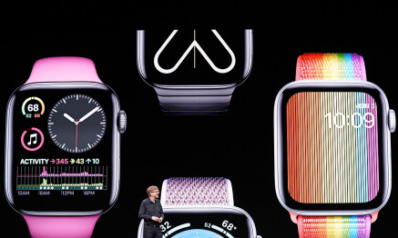 Apple VP of Technology Kevin Lynch speaks about the Apple Watch during Apple's annual Worldwide Developers Conference in San Jose