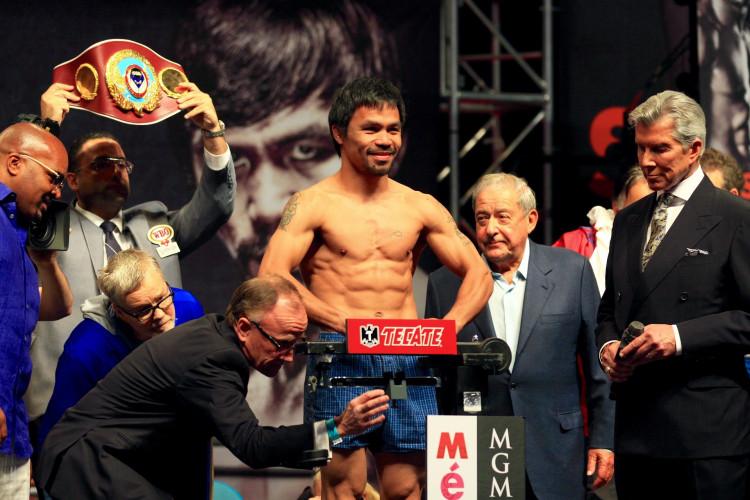 Boxing: WBA Welterweight champion Manny Pacquiao